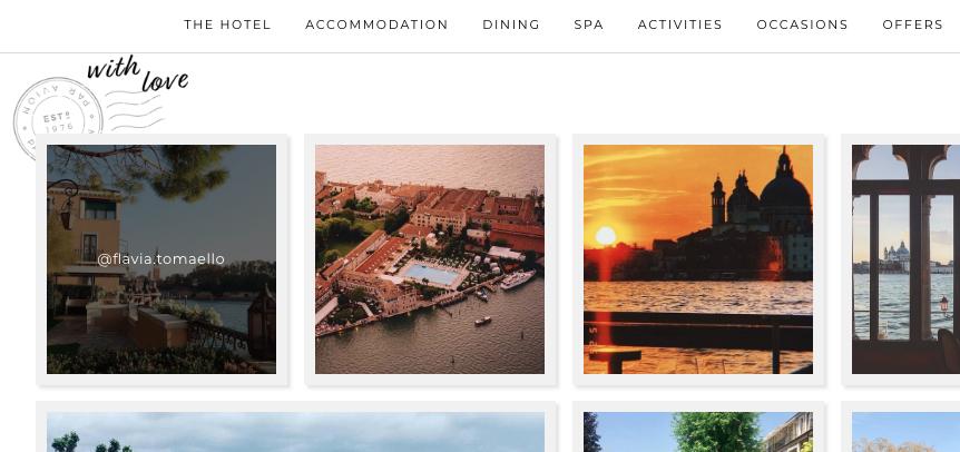 Belmond Hotel Cipriani de #Venecia eligió mis fotos para su web oficial