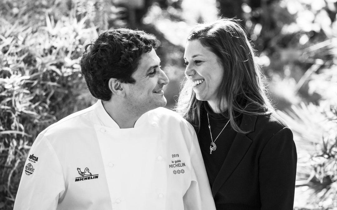 Mauro Colagreco y la carioca Julia Ramos, su esposa, dan vida juntos a uno de los mejores proyectos gastronómicos del mundo