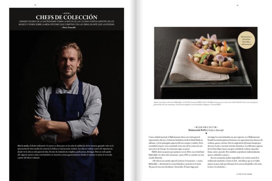 """""""Chefs de Colección"""", sobre los mejores #restaurantes de museos del mundo"""