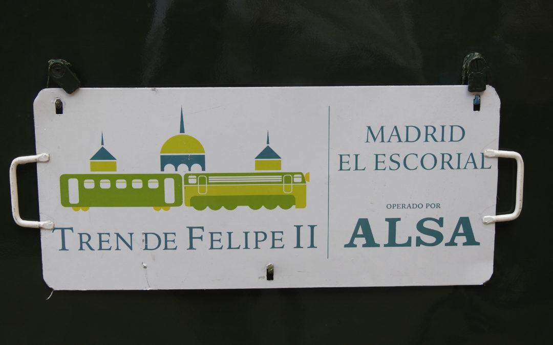 En tren histórico al monasterio