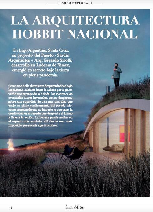 La casa enterrada de Lago Argentino