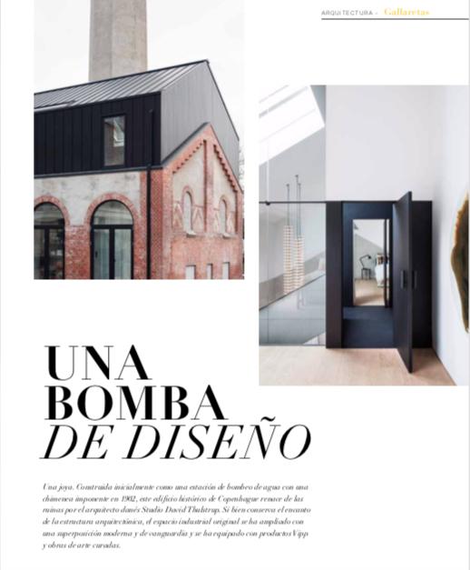 ChimneyHouse, un impresionante #proyecto de #diseño en Copenague